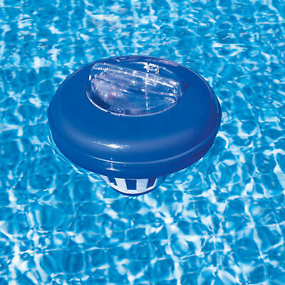 Clorinatore Piscine Dosatore Galleggiante Dispenser Cloro Termometro Intex 29043