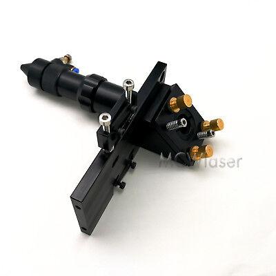 "HQ Laser Head Co2 laser Engraver Cutter + K9 mirror +  Znse lens FL 1.5"" to 4"" 2"