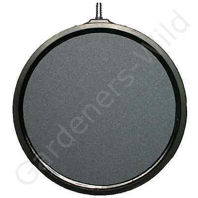 "AIR STONE 8"" 20cm (x4) HAILEA large round ceramic airstone hydroponic pond koi 5"