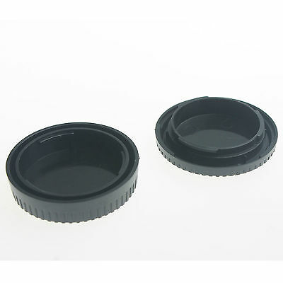 Camera Body Cover+Lens Rear Cover Cap For Fujifilm X-Pro1 Fuji FX X-Mount X1 . 2