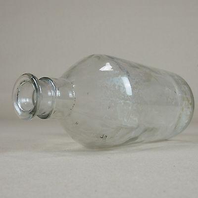 Alte antike Flasche Apothekerflasche Laborflasche 1000 ml - H23cm D9,5cm 3
