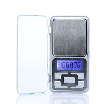 Pocket Digital Scales Jewellery Gold Weighing Mini LCD Electronic 0.1g 500g 2
