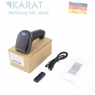 100m Wireless USB Laser Scanner Codice A Barre Lettore Handscanner 1524 2