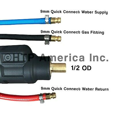 12.5/' CK20 Water Cooled Tig Torch Package Direct Connect for Everlast Welders