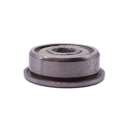US Stock 10pcs F675zz Mini Metal Double Shielded Flanged Ball Bearings 5x8x2.5mm
