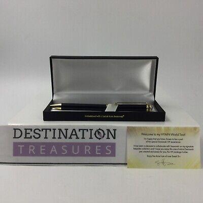 Sarah Brightman HYMN Concert Swarovski VIP Experience Gold Pen Gift & Silver Pen 2