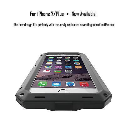 HEAVY DUTY Shockproof Waterproof Aluminum Metal Cover Case Fr iPhone X 11 8 7 6s 5