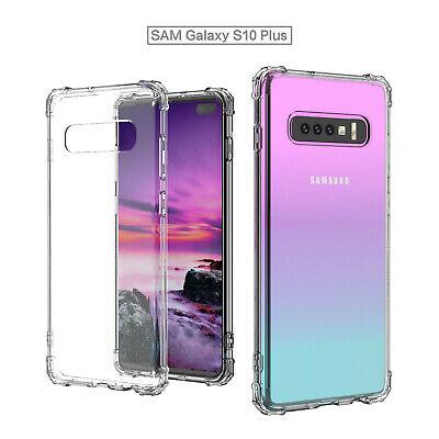 TPU Crystal clear 360°Soft Ultra thin Case Cover Samsung Galaxy S10 S7 Edge S8 + 12