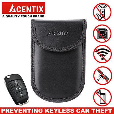 2X Car Key Signal Blocker Case Faraday Cage Fob Pouch Keyless RFID Blocking Bag 6