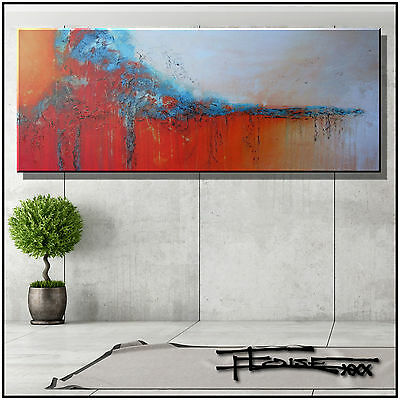 ABSTRACT PAINTING CANVAS WALL ART Framed, Large, Direct from Artist ...