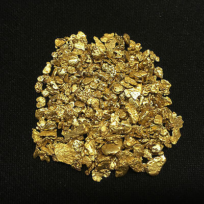 5 lb Gold Paydirt Unsearched and Gold Added Panning Flake Nugget 2