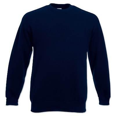 Abstand wählen großartige Qualität Neues Produkt FRUIT OF THE Loom Sweatshirt Set-In Herren Pullover Pulli Gr. S M L XL 2XL  3XL