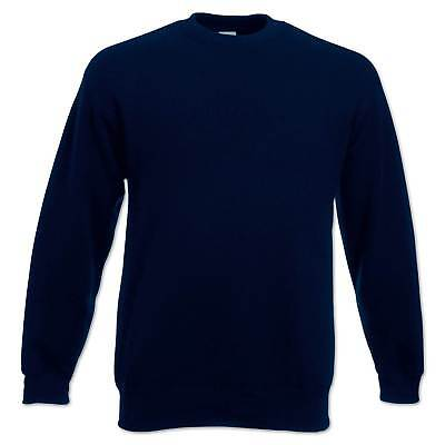 Fruit of the Loom Sweatshirt Set-In Herren Pullover Pulli Gr. S M L XL 2XL 3XL 4