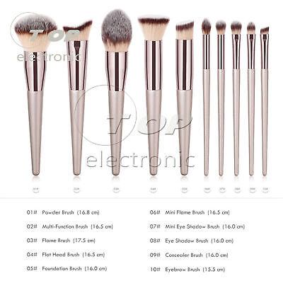 Pro Face Foundation Eyebrow Eyeshadow Brush Makeup Brush Set Tools Cosmetic 5