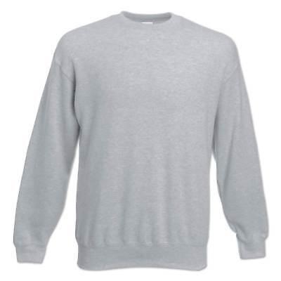 Fruit of the Loom Sweatshirt Set-In Herren Pullover Pulli Gr. S M L XL 2XL 3XL 5
