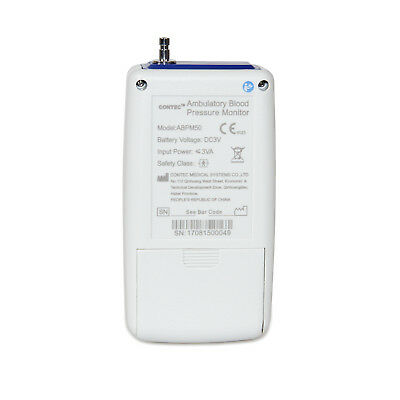 FedEx CONTEC Ambulatory Blood Pressure Monitor+Software 24h NIBP Holter ABPM50 12