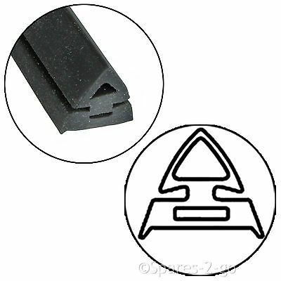 2.5m Door Seal for DeLonghi 3 or 4 Sided Oven Cooker Rounded or 90º Clips