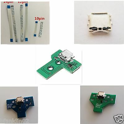 PS4 Sony PlayStation USB Controller Charging Port Socket Board Flex Cable Ribbon 2