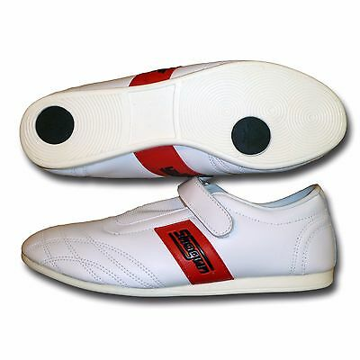 SHOGUN leather taekwondo shoes - FREE p&p