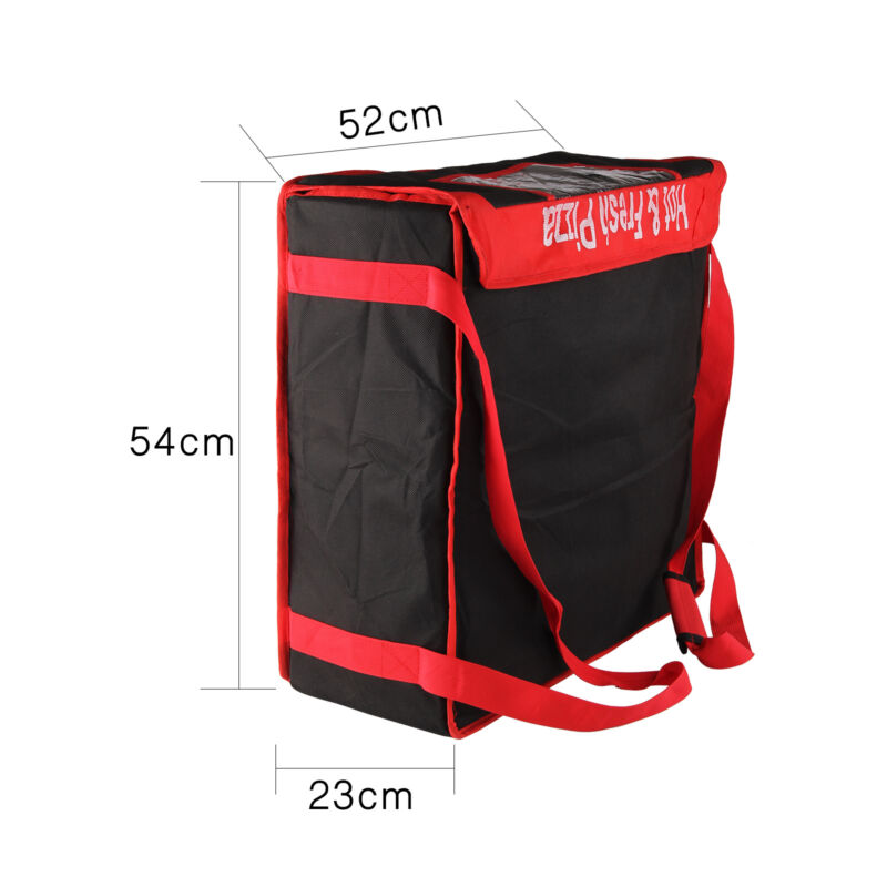 Food PIZZA  insulated delivery bag  big Size Ideal for Pizza 11