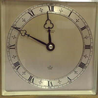 Antique Clock By Morath Bros. Liverpool, Elliot Clock. Made In England. Working 4