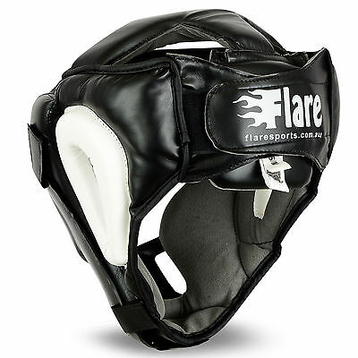 Flaresport Grill Head Guard Kick Boxing Gloves Gear Face Protection Hand Wraps