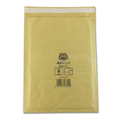 1000 Jiffy Bubble Bags Envelopes Mailers J3 LargeLetter