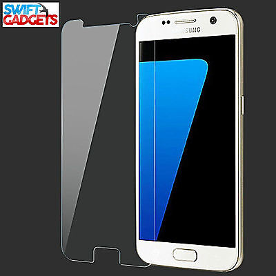 100% Real Tempered Glass Film Lcd Screen Protector For Samsung Galaxy S7 4