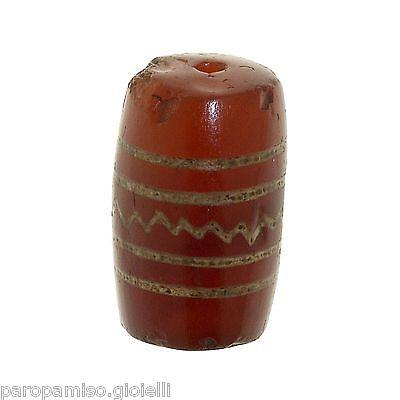 Buddhist Chung gZi Stone  Bead, China Tibet  涌越秀石珠  (0384)