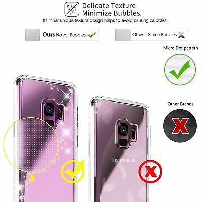 For Samsung Galaxy S7 S8 S9 Case Shockproof Silicone Protective Clear Gel Cover