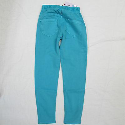 DEHA pantaloni/leggins bambina mod.F87397 col.TURCHESE tg.S estate 2014 2