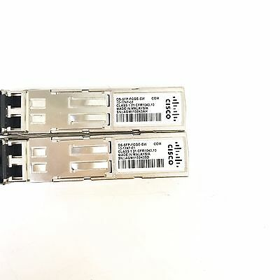 10-1747-01 LOT of 5 CISCO SN-SFP-FC//GBE-MM-LC 4-Gbps Fibre Channel SFP
