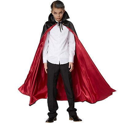 Edler Vampirumhang Kinder Vampir Dracula Cape Robe Karneval Fasching Halloween