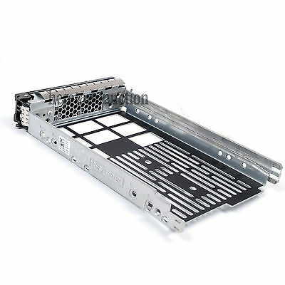 """4X 3.5"""" Hard Drive SAS SATA Tray Caddy 0F238F Dell R410 R510 R710 R720 T410 R520"""