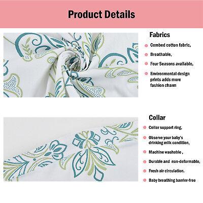 100% Breathable Cotton 3 in 1 Baby Breastfeeding Nursing Cover Generous Blanket 5