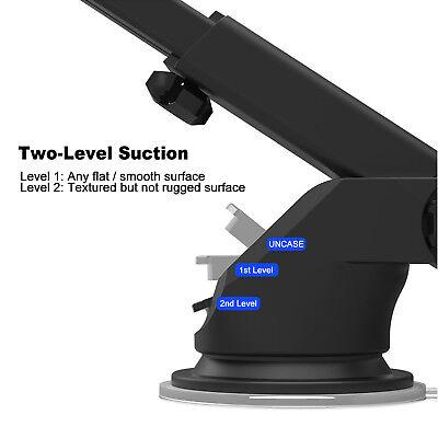 Universal 360° Windshield Mount Car Holder Cradle For GPS Mobile Smart Phone 9