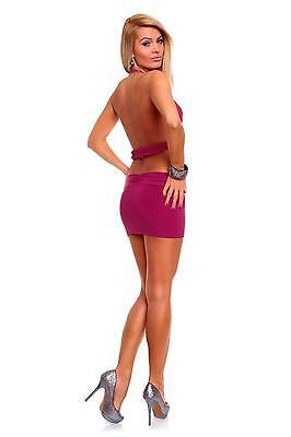 Womens Cut Out Club Bodycon Party Mini Dress size 8 10 12