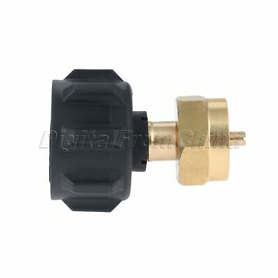 Useful Gas Propane Refill Adapter 1 LB Cylinder Connection QCC1 Regulator Valve 12