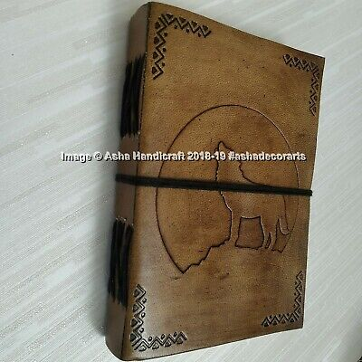 Leather notepad, leather journal, Leather diary, Travel journal, Vintage notepad 4