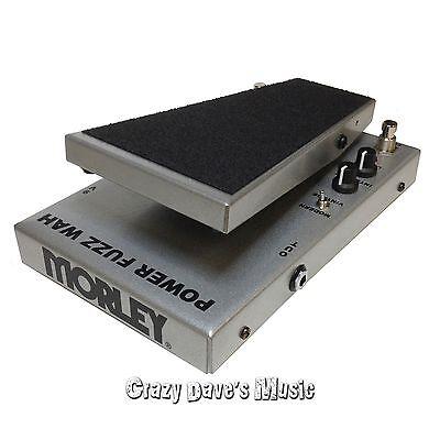 Morley Cliff Burton Metallica Tribute Series Power Fuzz Wah Effect Pedal PFW 3