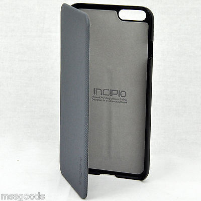 new product 5dc41 b1031 INCIPIO HIGHLAND ULTRA Thin Premium Folio Case for iPhone 6+ Credit Card  Case
