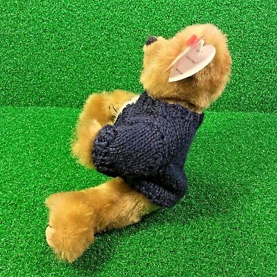 775dfbf84cf ... Rare Ty Attic Treasures Salty The Bear Retired Jointed Plush Toy MWNMT 5