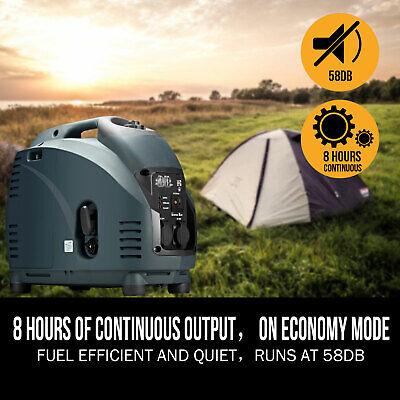 [20%OFF]GenTrax Portable Inverter Generator 3.5kw Digital Petrol Pure Sine New 6