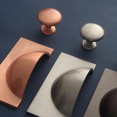 Cabinet Knobs Door Handles Kitchen Cupboard Drawer Pulls Copper