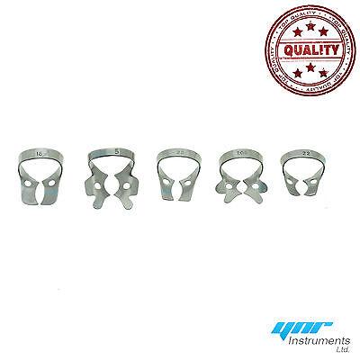 Kit pour digue dentaire forceps caoutchouc pince Ainsworth serrage cadre CE 6