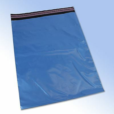 50 Mixed Mailing Postage Bags Grey Pink Blue in 4 sizes