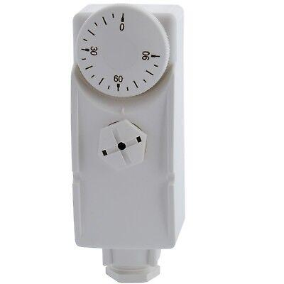 Tauch-Thermostat TC 200 A Länge 200 mm Regler 0-90°C Außenskala