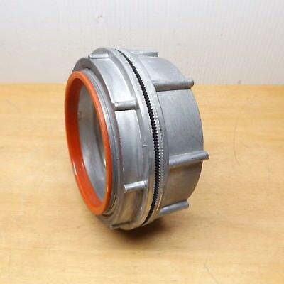 """Meyer Sttba10 Conduit Hub Diecast Zinc 4"""" Insulated Throat"""