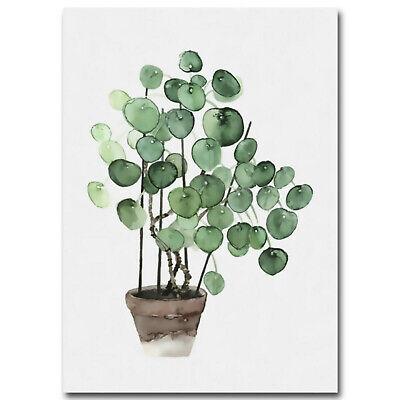 Unframed Tropical Plant Leaf Prints Art Canvas Poster Modern Wall Home Decor 7