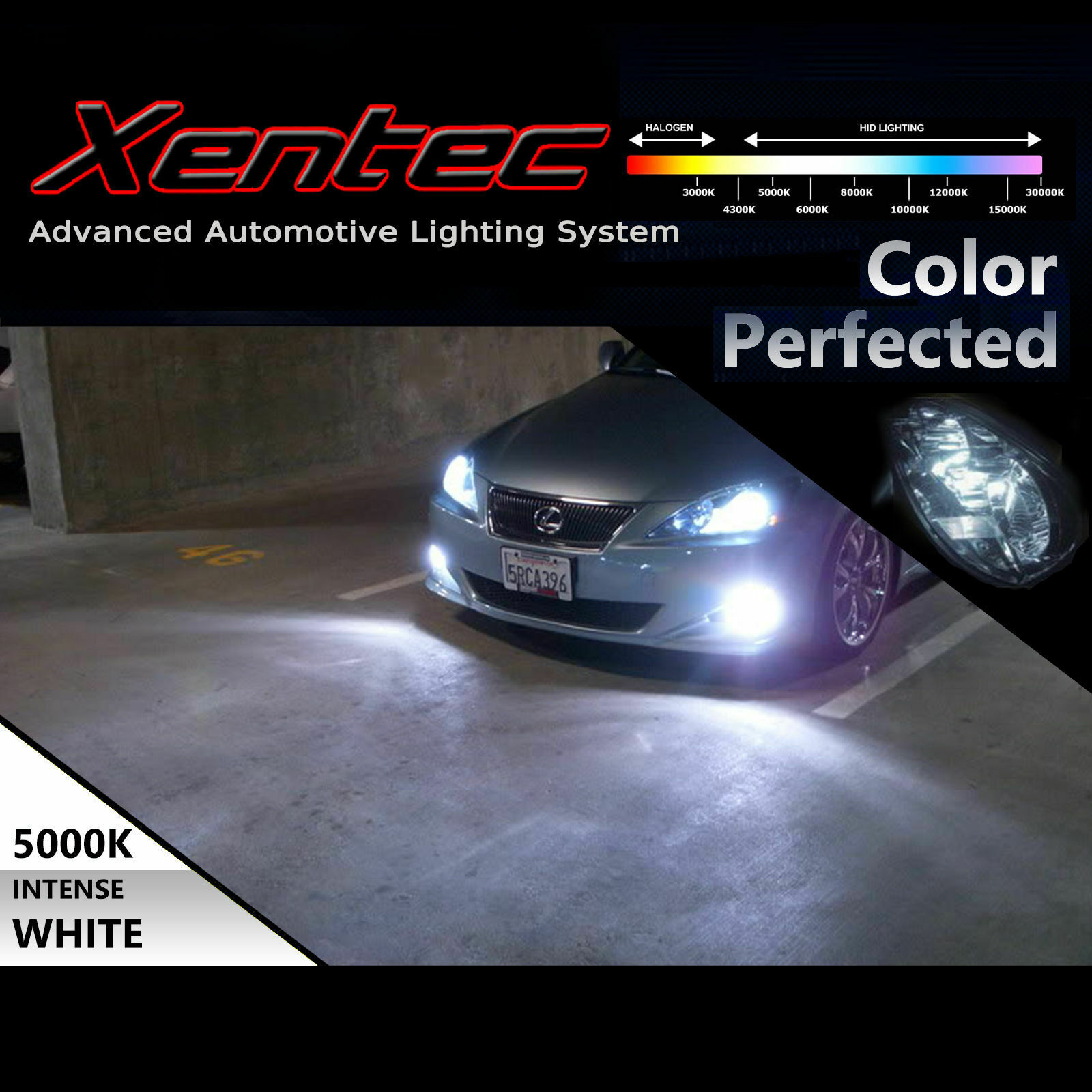 Xentec Xenon Headlight HID Kit for Honda Civic Accord H4 H11 9005 9006 880 H10 6